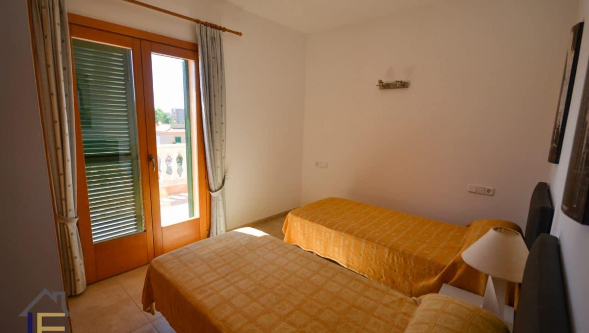Doppelte schlefzimmer mit terrasse in calas de mallorca