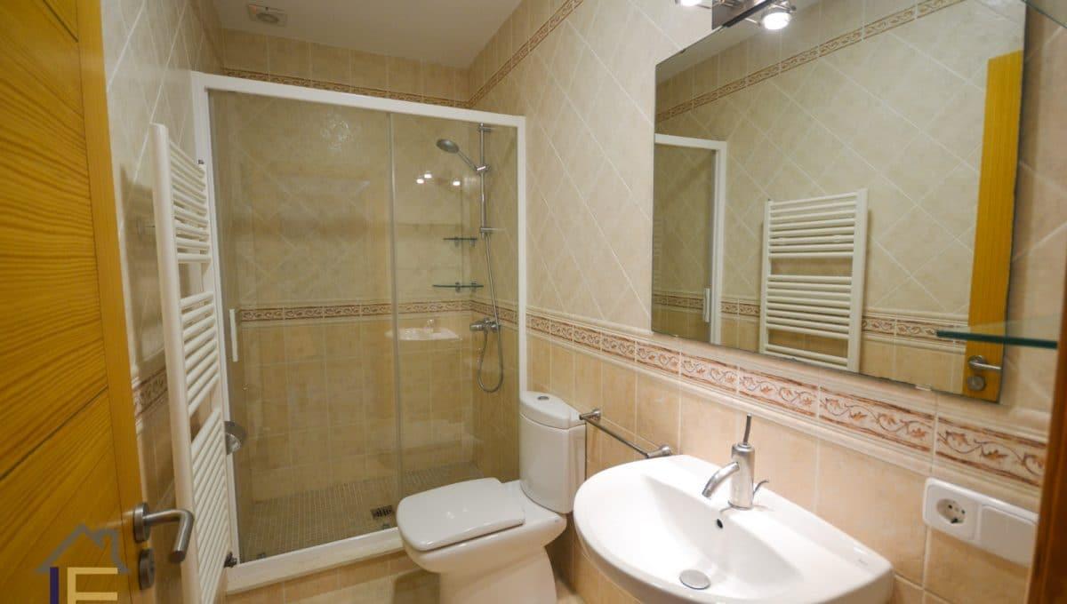 Badezimmer mit duche in chalet in calas de mallorca