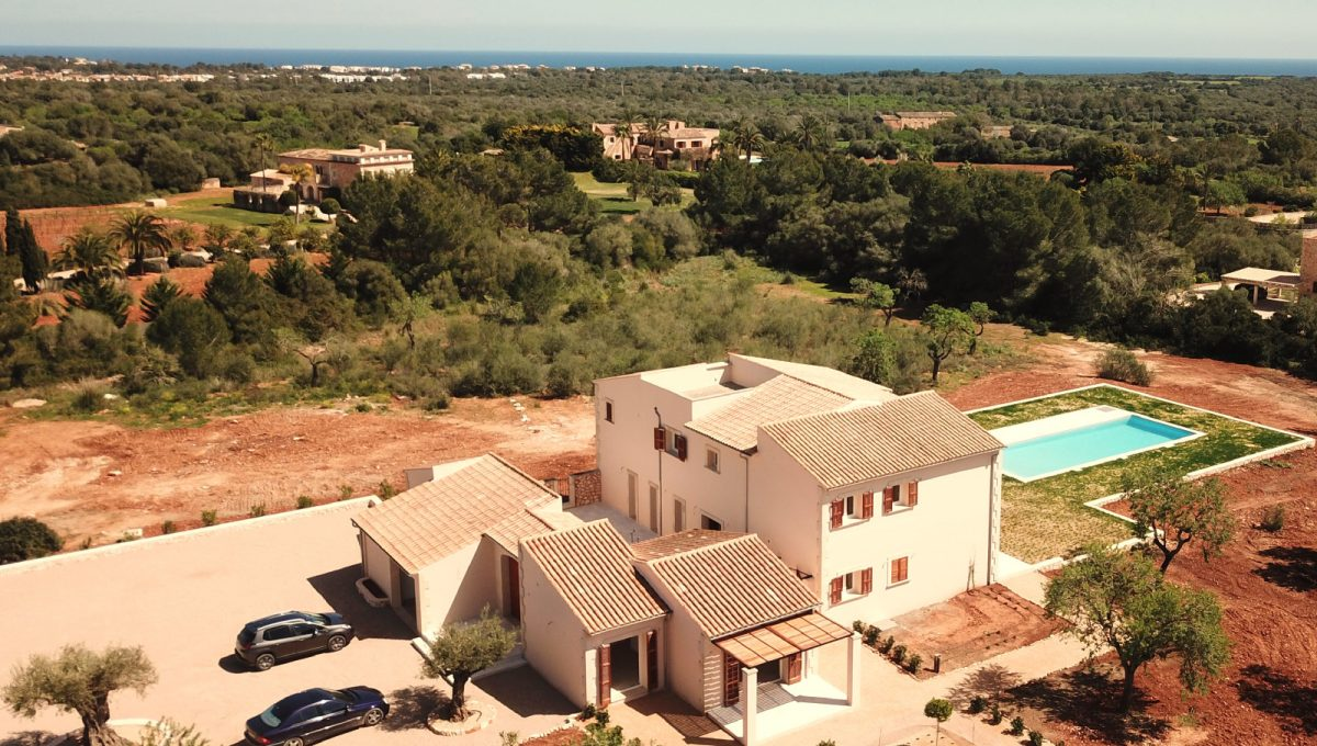 Luxus neue Finca mit pool dron Portocolom Mallorca