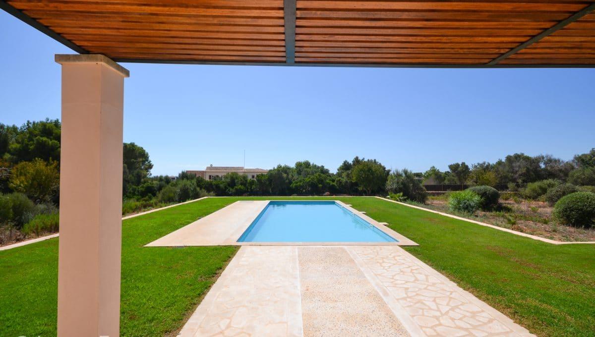 Schwimmbad luxuriös Finca Portocolom Mallorca