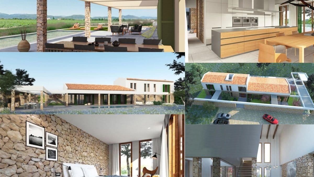 Bauprojekt mit Lizenz in Felanitx