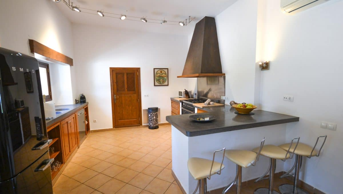 Finca Portocolom Luxusimmobilien Küche