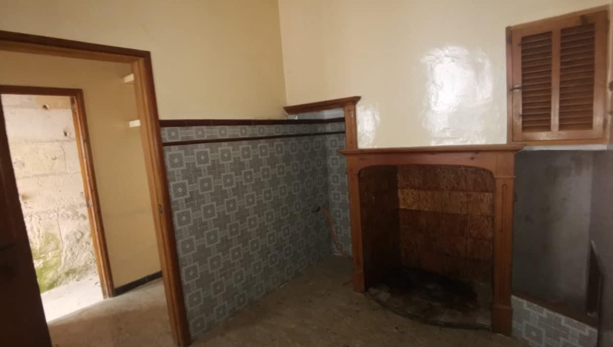 Küche mit kamin in porreres