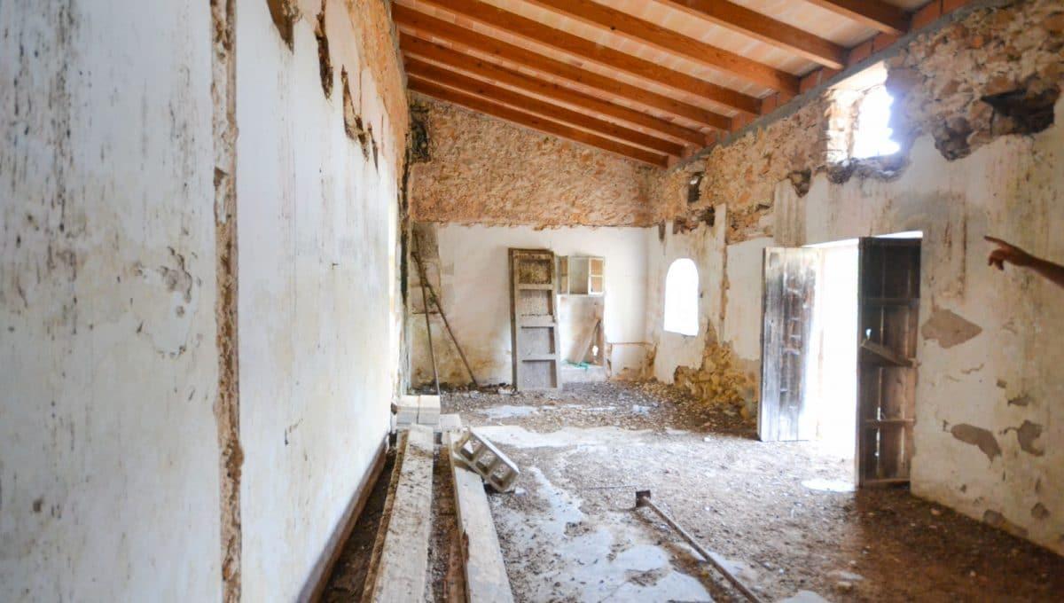 Mallorquinische altes Haus mit neue Decke