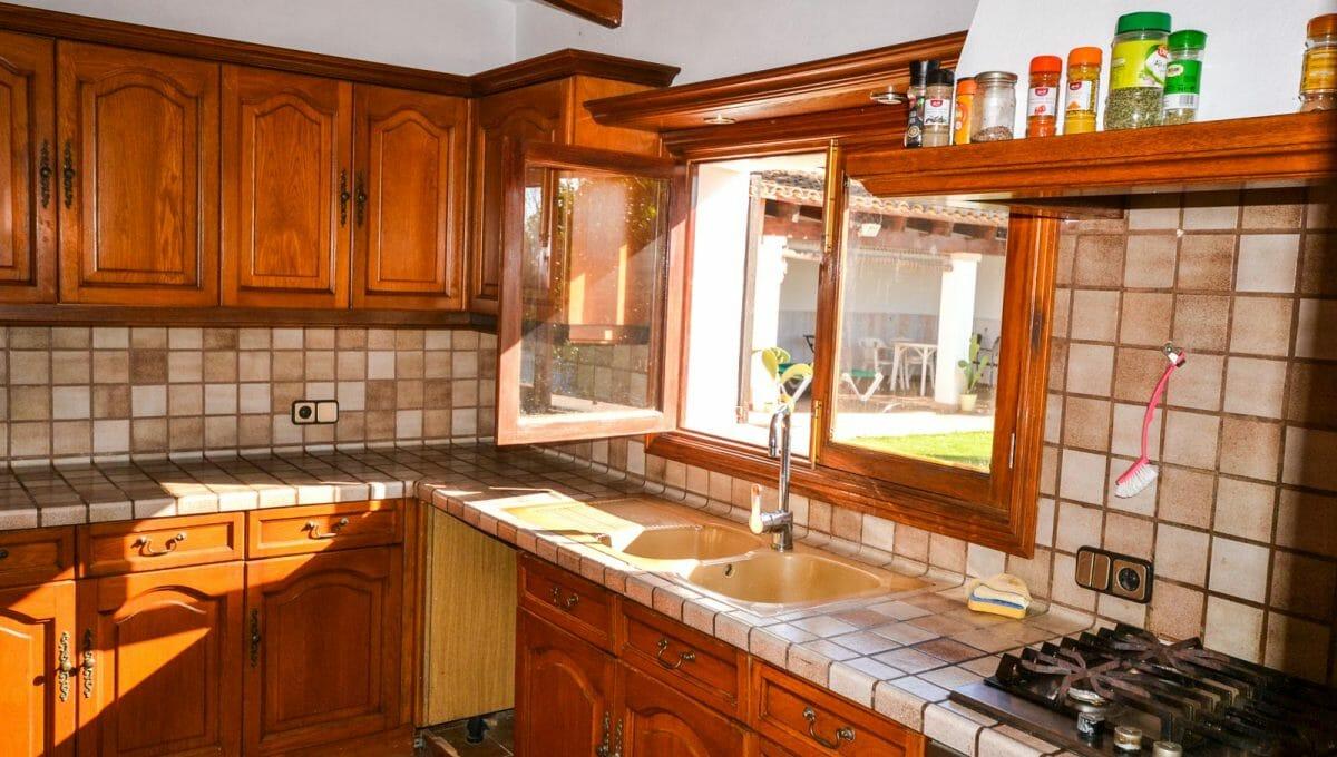 Küche in mallorquinische style voll ausgestattet