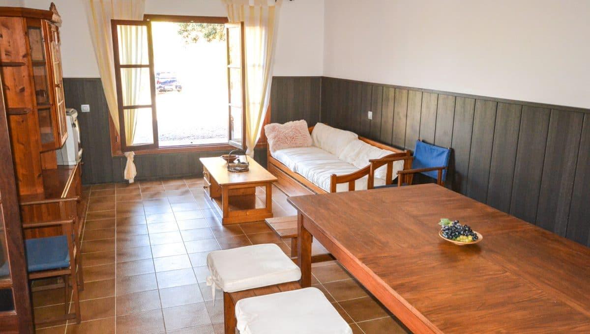 Wohn und Esszimmer in Cala Murada