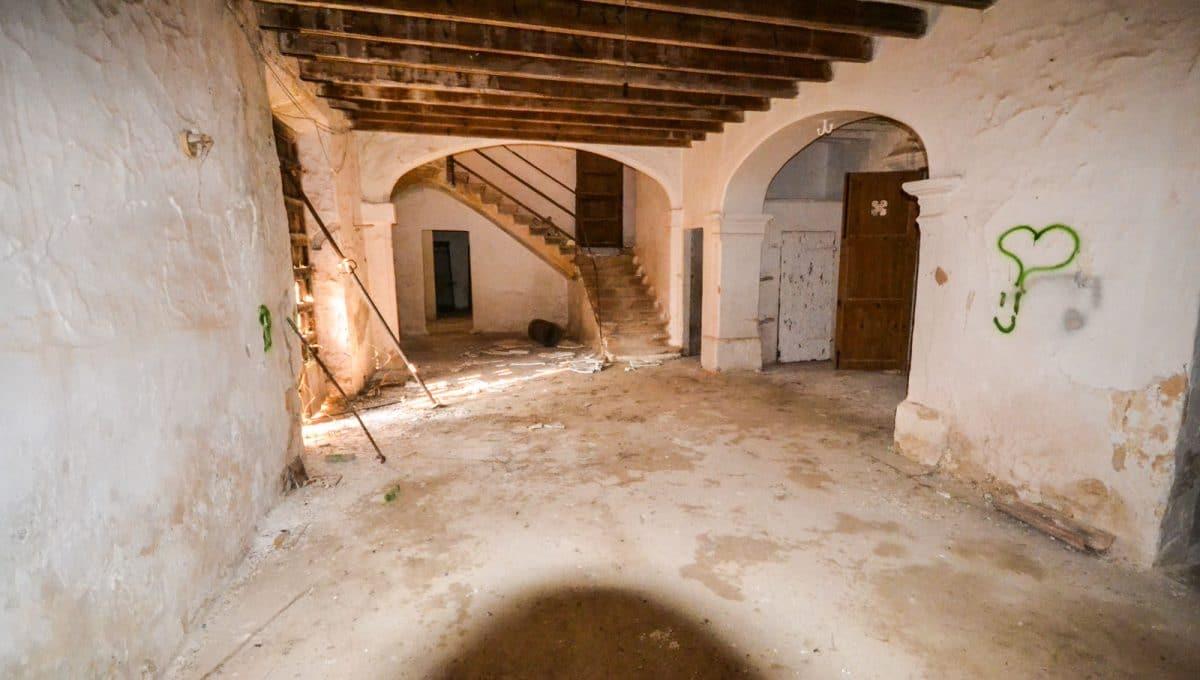 Grossen Zimmern in altes herrenhaus