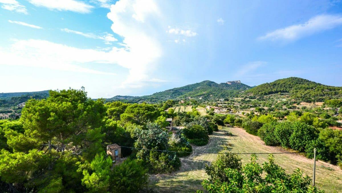 Santueri Burg blick in S'horta