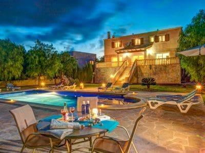 Immobilien Portocolom Villa mit ETV