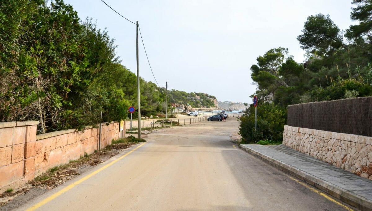 Strand und meer blick in Cala LLombards