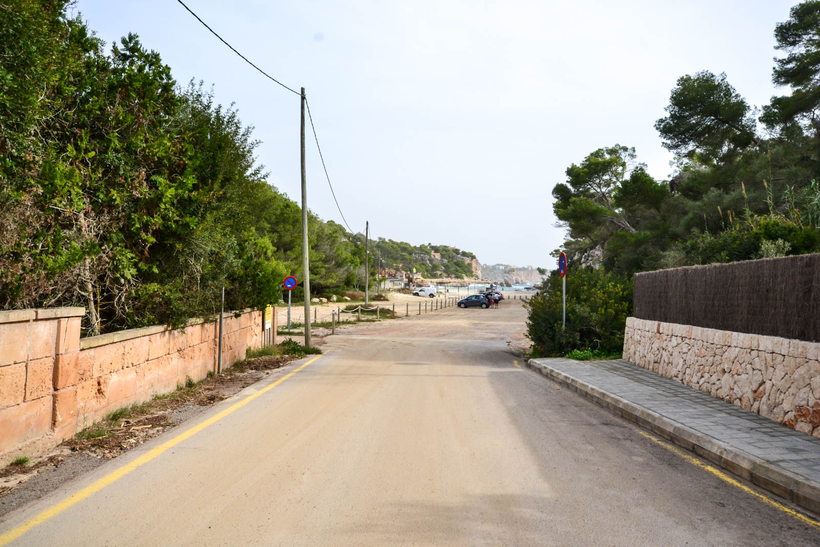 Coveted building plot in Cala Llombards