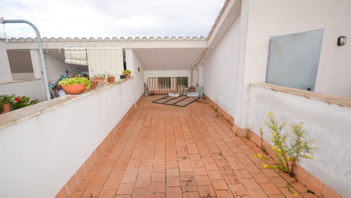 Private Dachterrasse mit blick auf sa mola