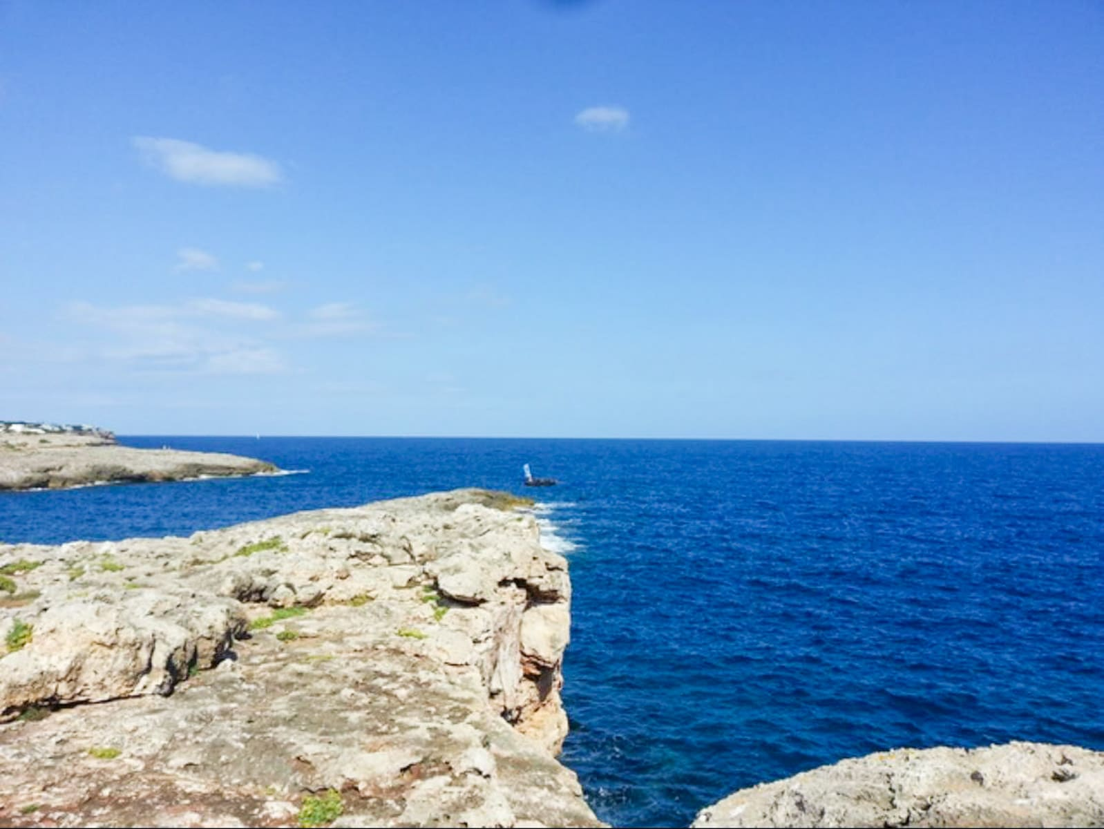 Double building plot in first sea line in Cala d'Or