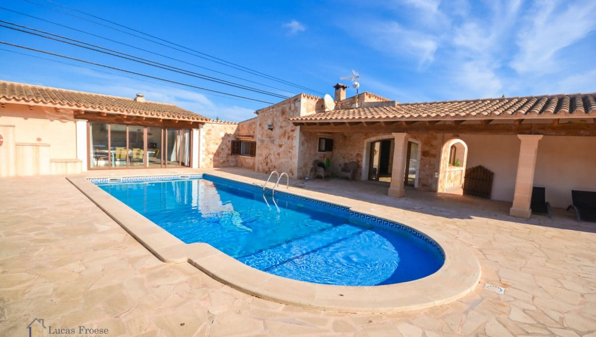 Immobilien santanyi Finca mit Pool