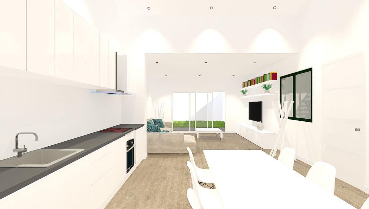 Küche Ses salines Haus