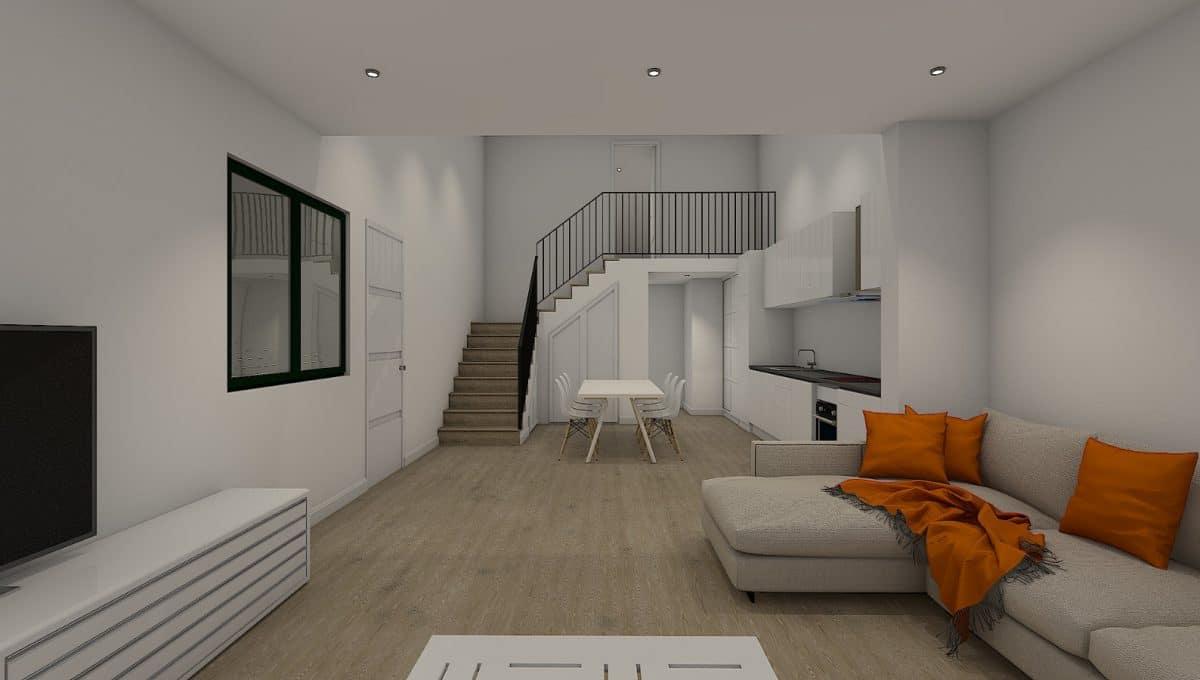 Wohnzimmer Ses salines Haus