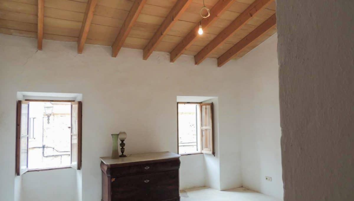 Santanyi Stadthaus mit Patio Schlafzimmer
