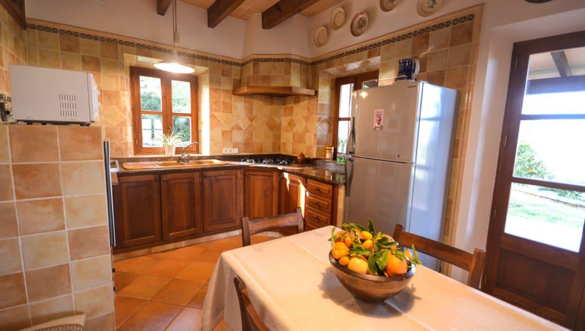 Küche in mallorquinishe Still