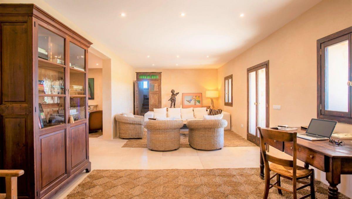 Wohnzimmer in rusticales stil in Campos