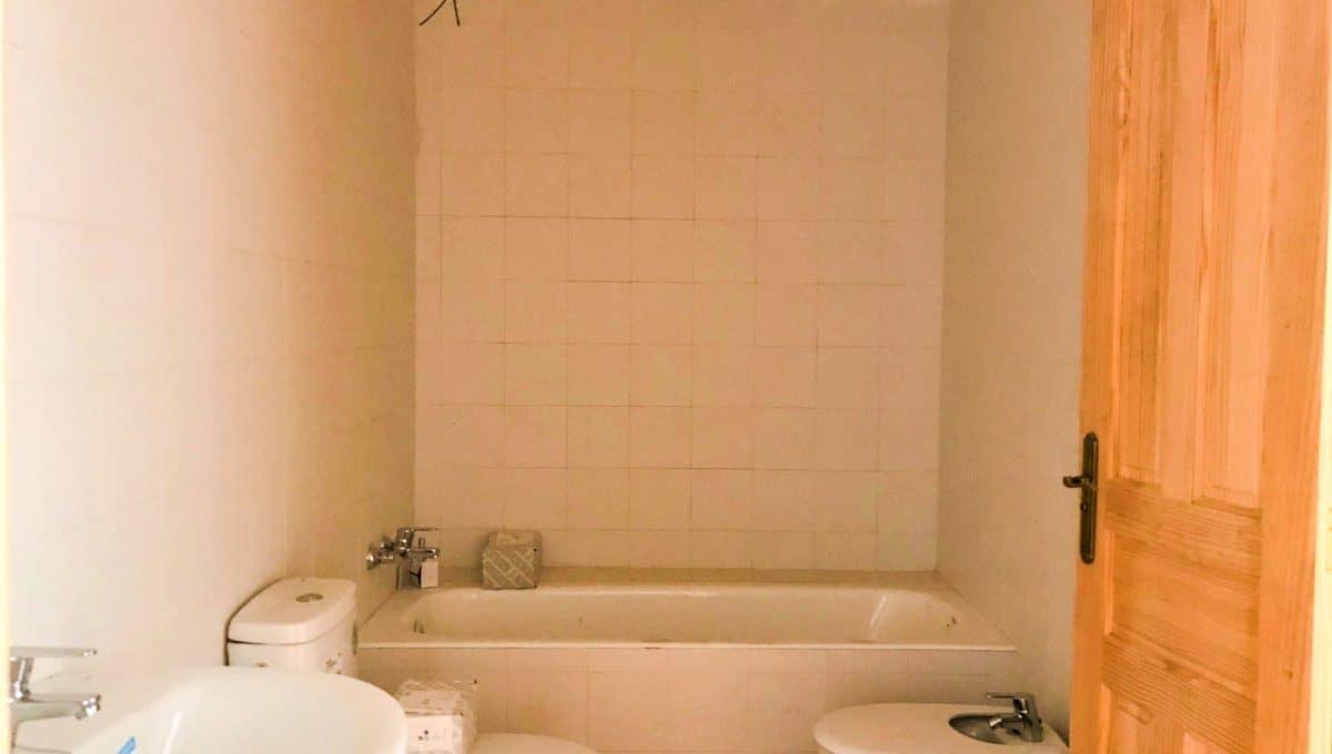Badezimmer mit badewanne in ses salines