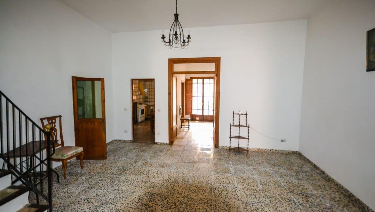 Wohnzimmer in ein stadhaus in felanitx