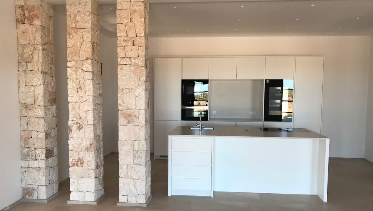 Luxusimmobilie Ses Salines Küche