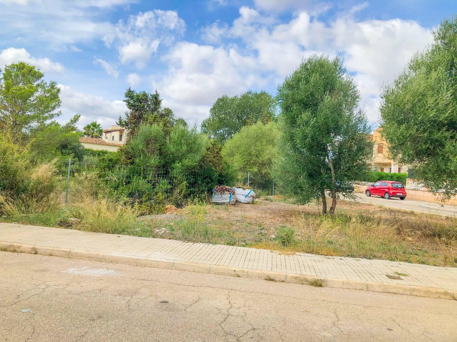 Building plot in Sa Coma