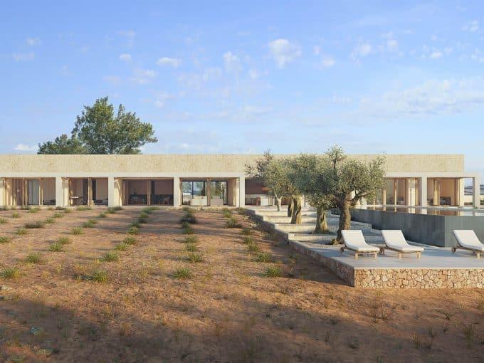 Baugrundstück mit Projekt in Santanyi