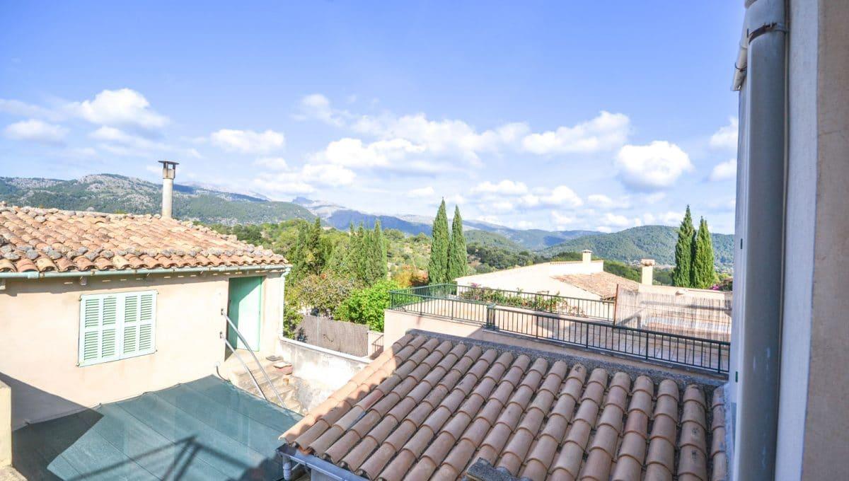 Stadthaus in Campanet Panorama Blick