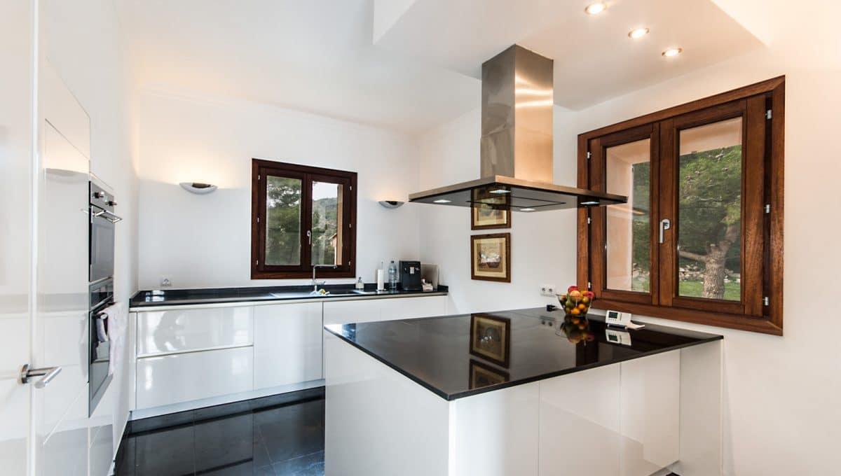 Moderne Luxus Finca Arta Küche