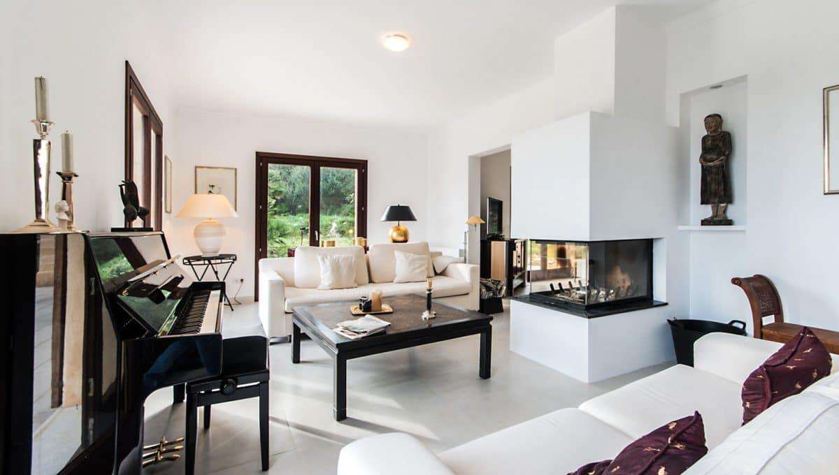 Moderne Luxus Finca Arta Wohnzimmer