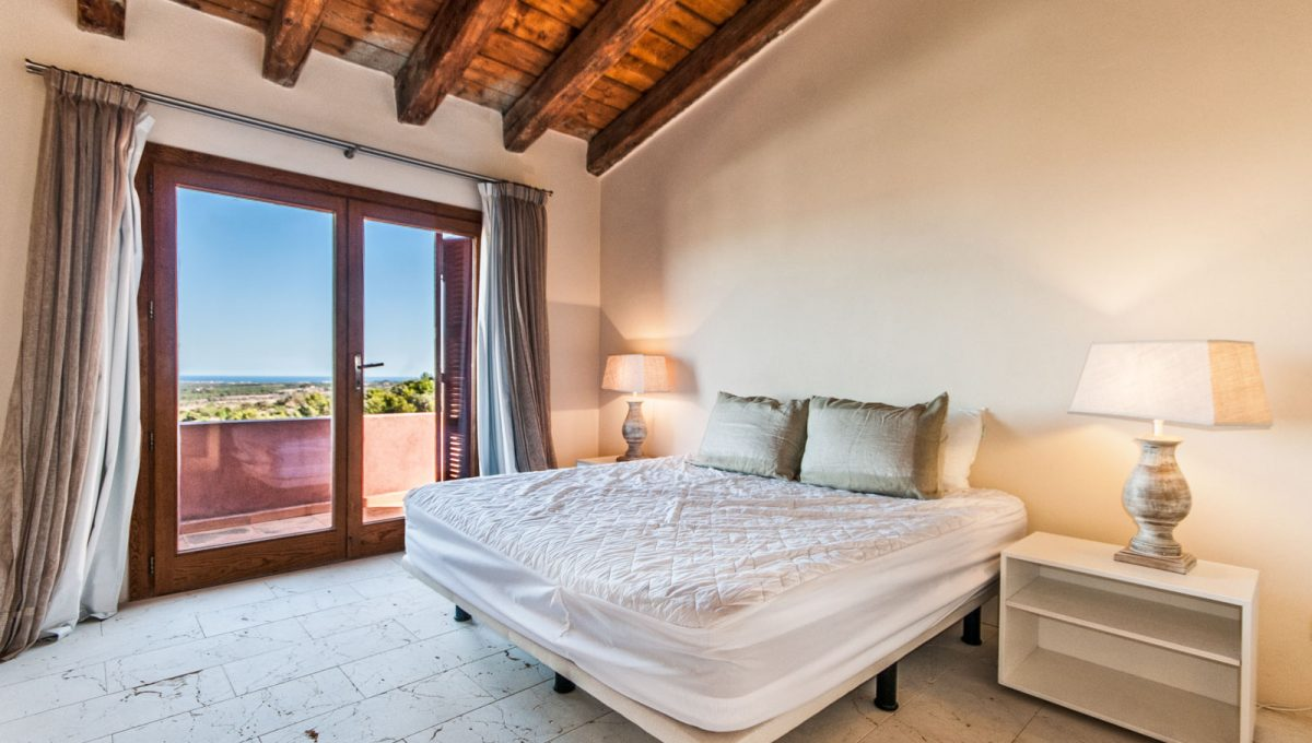Luxus Finca in Son Carrio Schlafzimmer