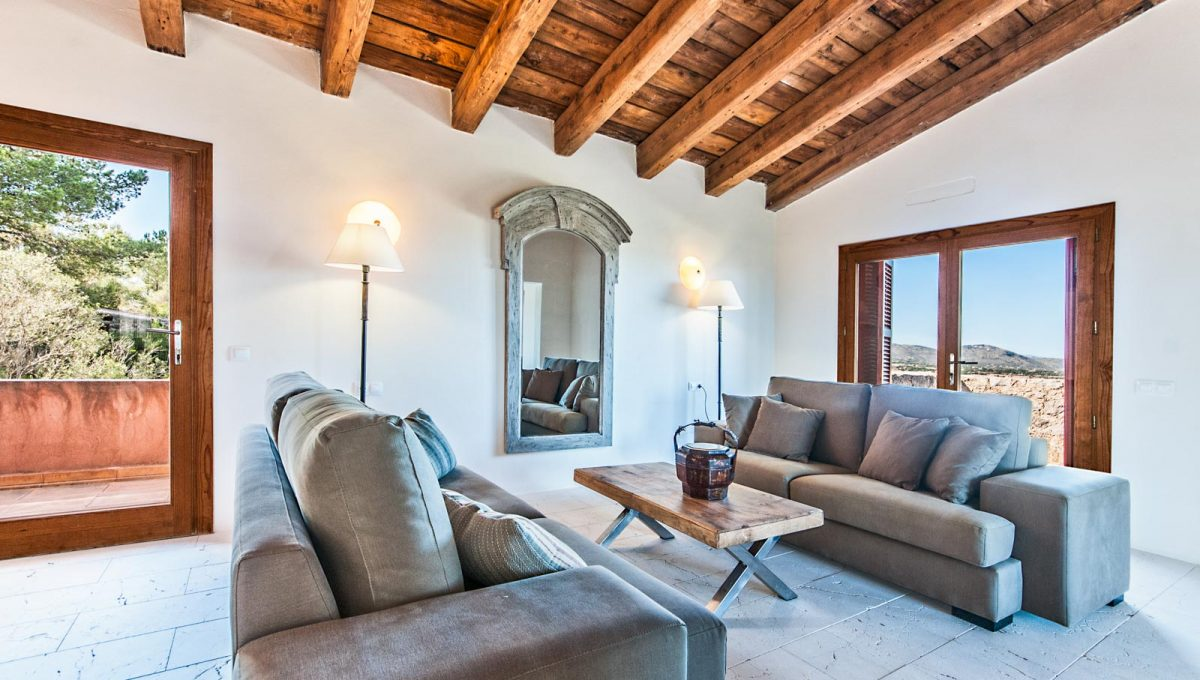 Luxus Finca in Son Carrio Esszimmer