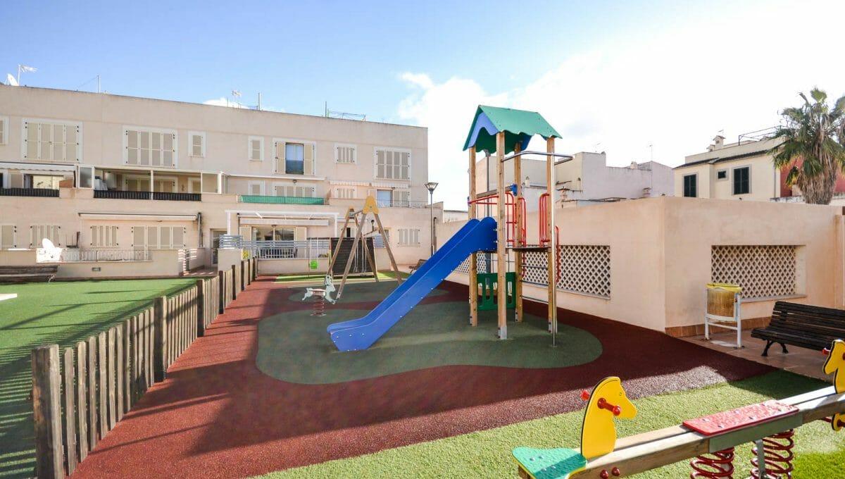Kinderplatz in campos