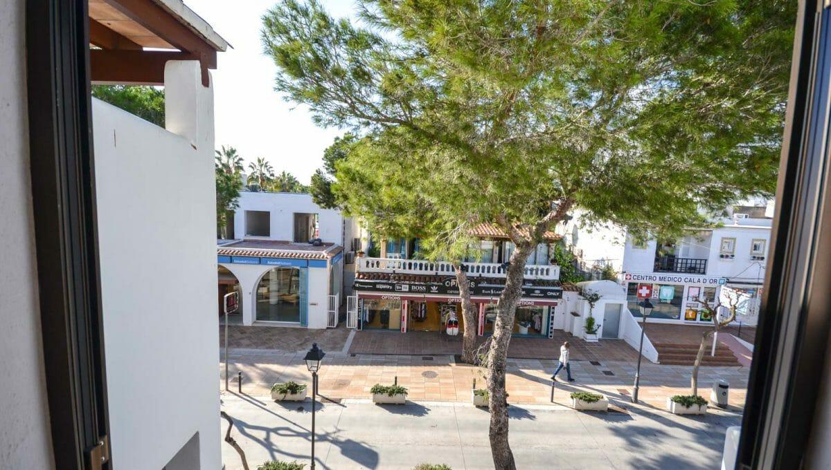Wohnung in Cala d'Or mit Balkon
