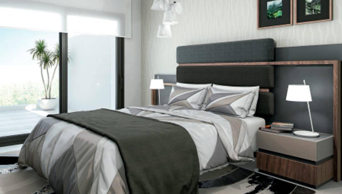 Moderne Schlafzimmer in Portocolom