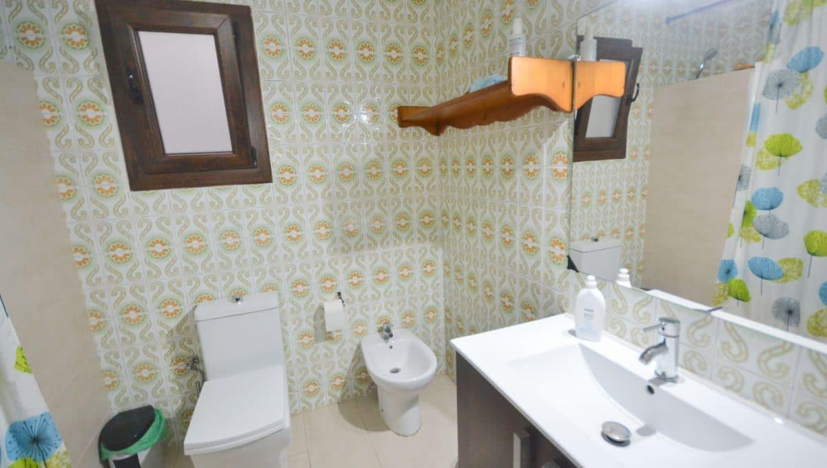 Badezimmer mit duche in felanitx