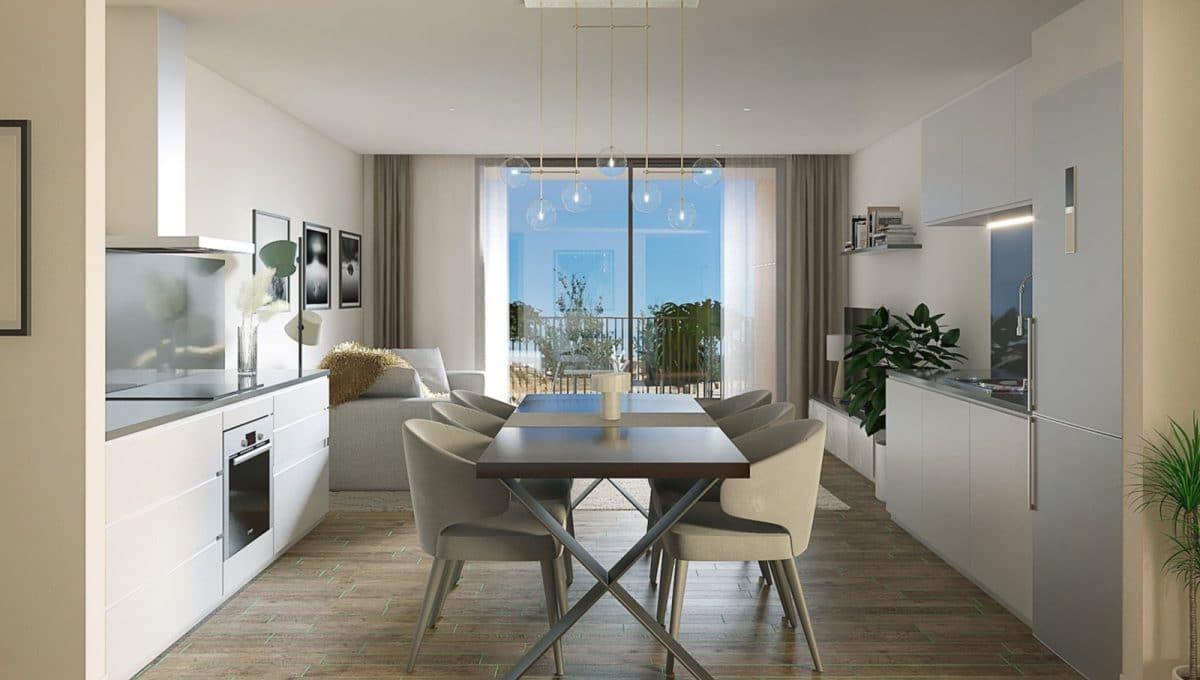 Immobilien Santanyi Apartments Esszimmer