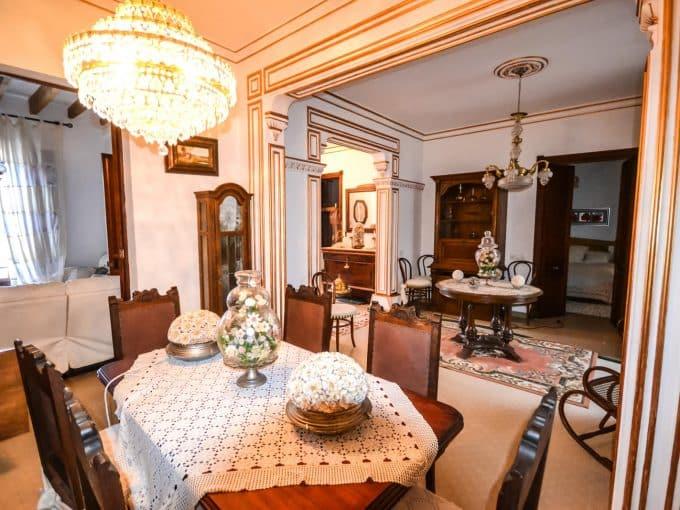 Wohnzimmer Charmantes Stadthaus in Felanitx