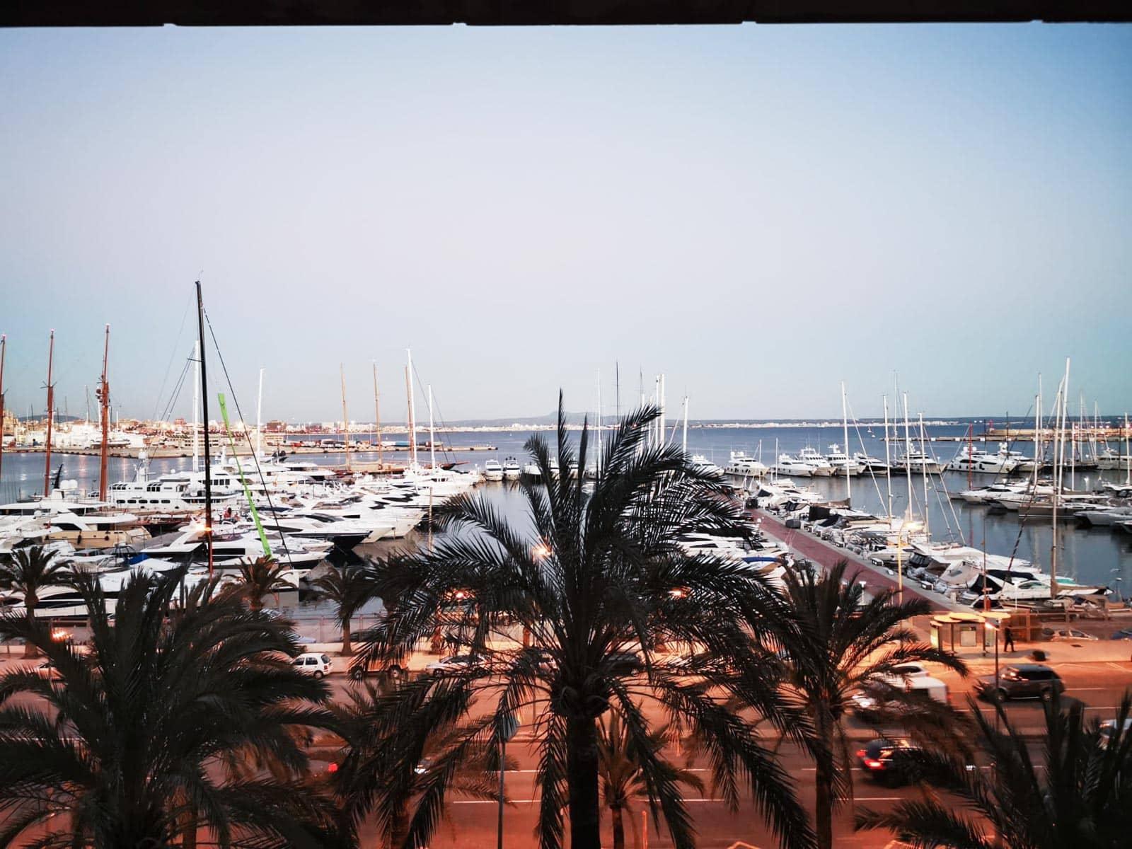 Wohnung mit herrlichem Blick auf den Hafen von Palma