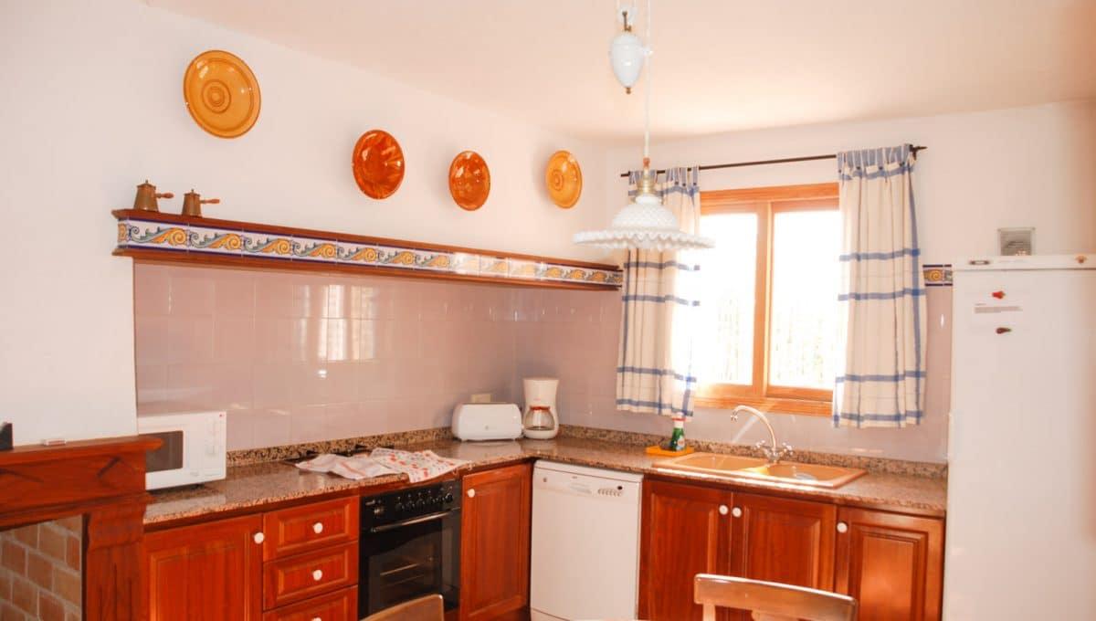 Holz Möbel in die Küche
