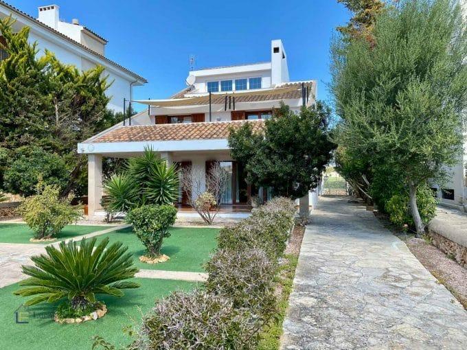 Immobilien Portocolom Haus mit Meerblick