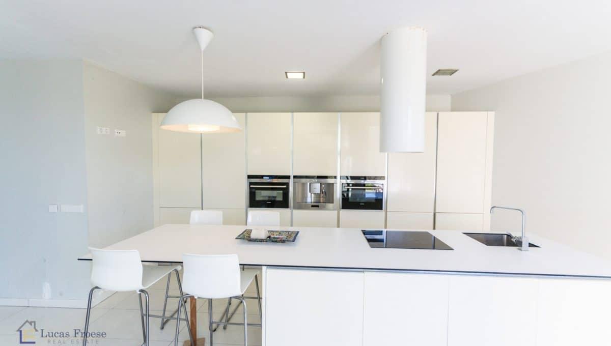 Modernes Haus in Portocolom Küche