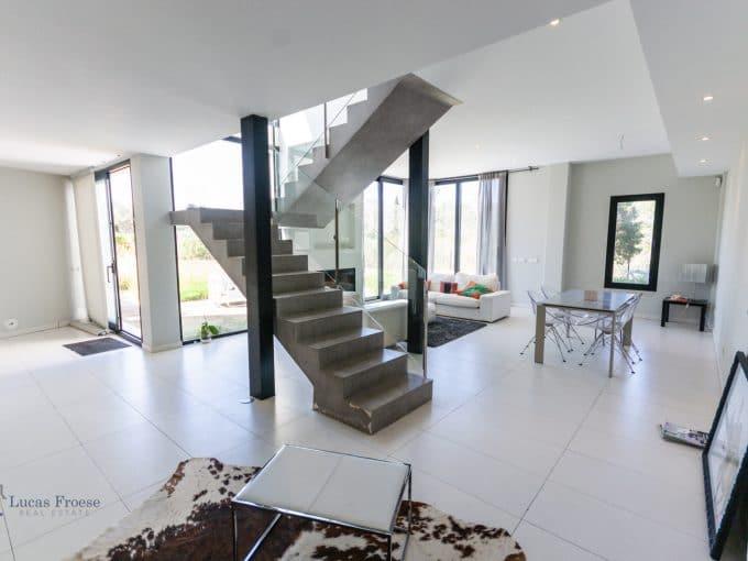 Modernes Haus in Portocolom Wohnzimmer