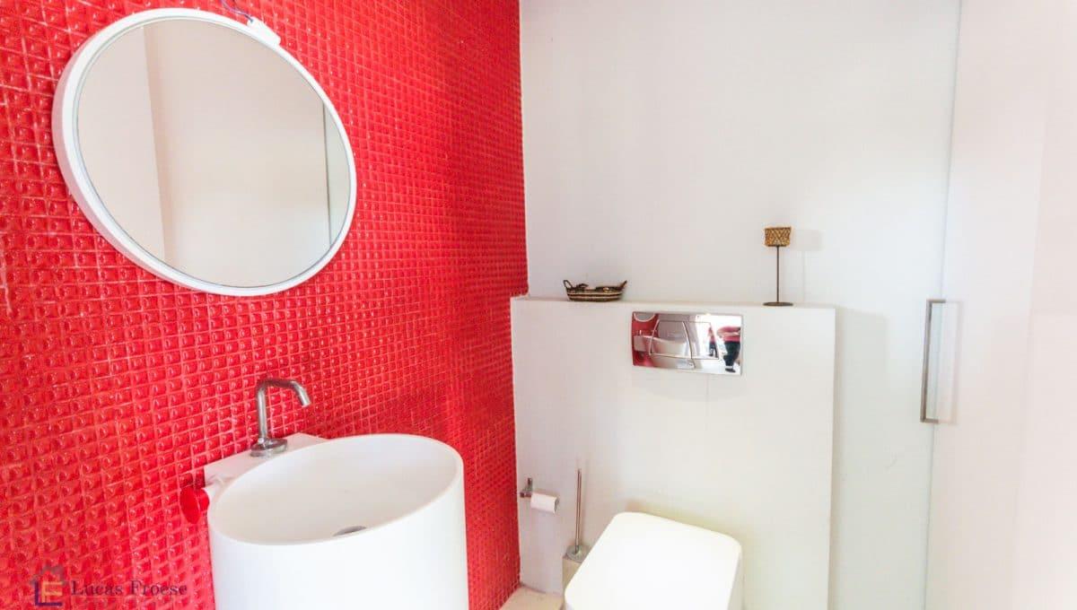 Modernes Haus in Portocolom Badezimmer