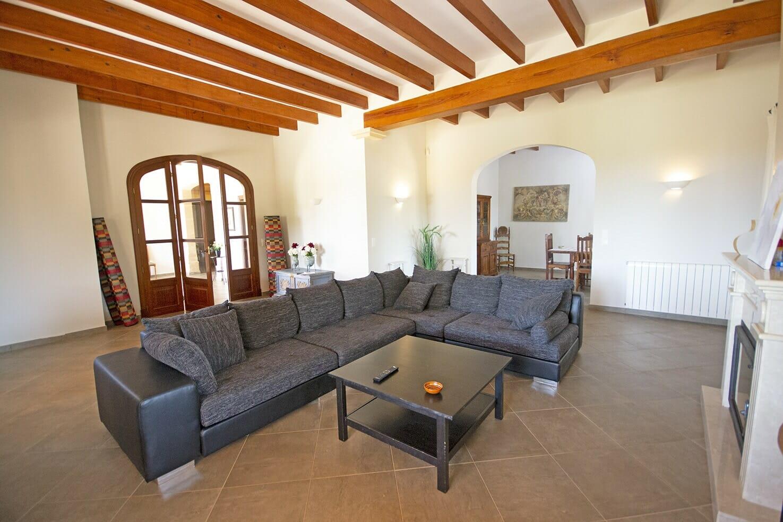 Luxus Finca in Portocolom mit Swimmingpool und Meerblick