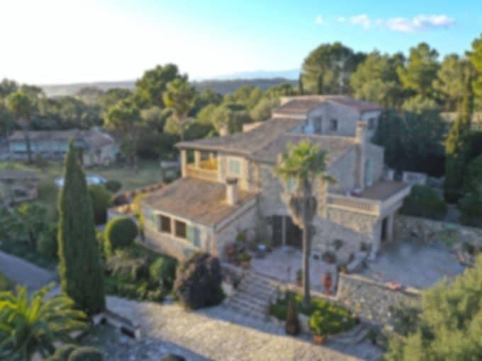 Luxus Finca in Montuiri mit Swimmingpool