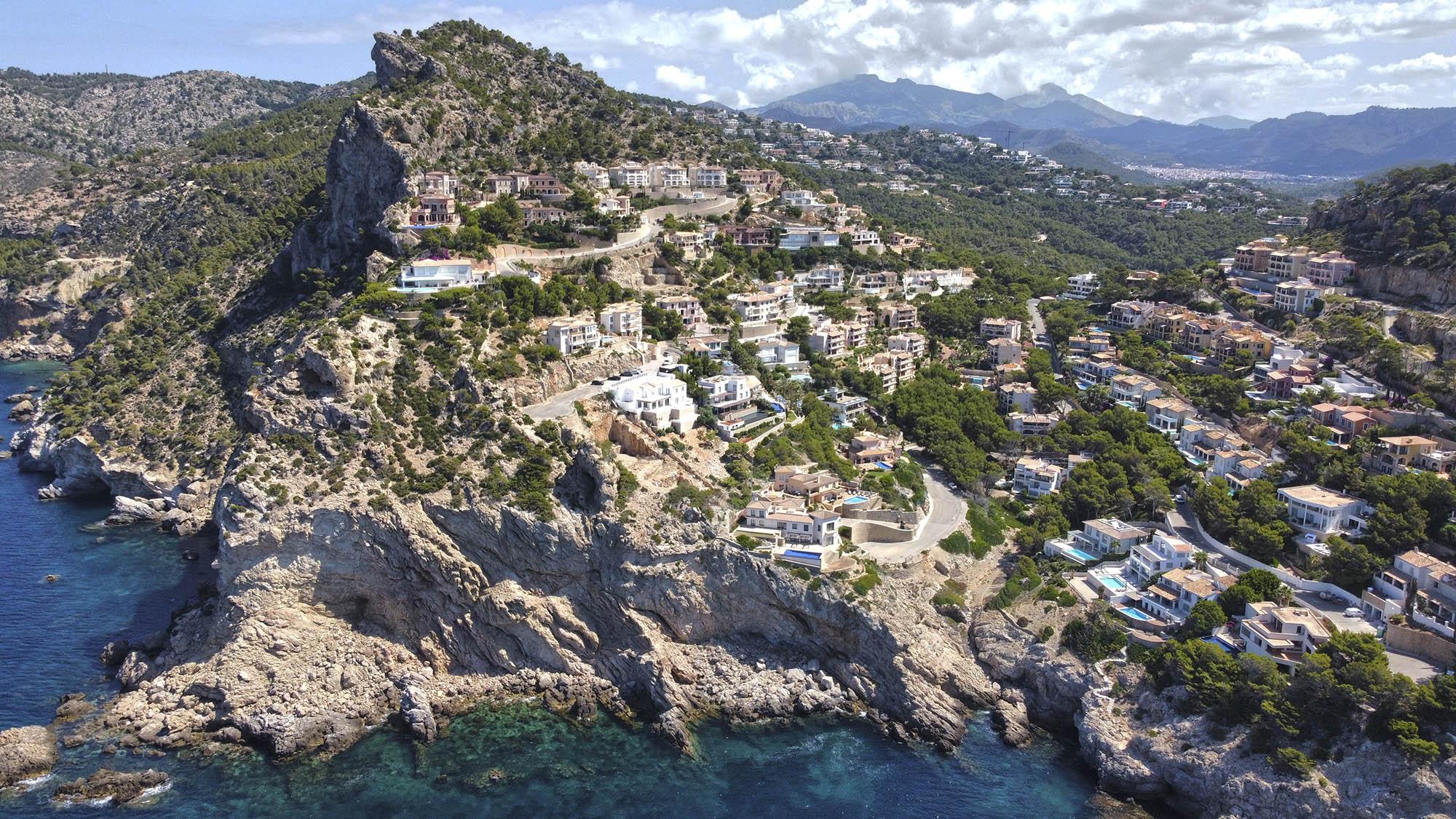 Luxus Villa in erster Meereslinie und Infinity Pool in Port Andratx