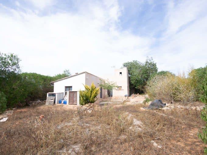 Blick auf das Haus in Santanyi